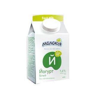Йогурт 1,6% Молокія, 430 г