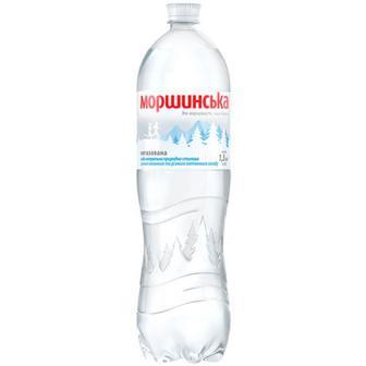 Вода мінеральна Моршинська негазована 1.5л