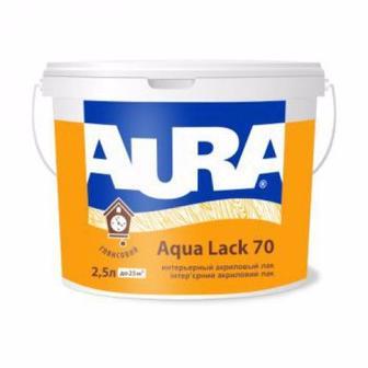 Лак акриловий Agva Lack 70 інтер'єрний AURA 2.5 л