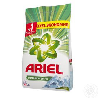 Стиральный порошок ARIEL автомат Горный источник, 6кг