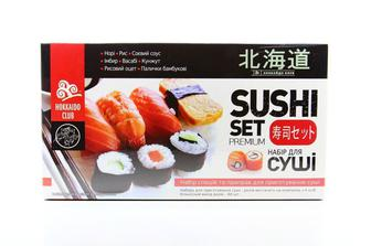 Набор для суши Hokkaido Club специ и приправы 516г