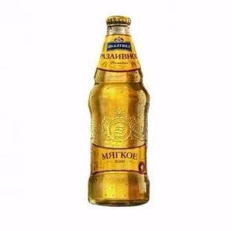 Пиво світле світле м'яке Розливне Балтика 0,9 л