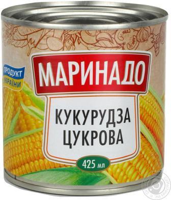"""Кукурудза цукрова,  """"Маринадо"""", 425 мл"""