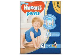 Підгузки-трусики Huggies Pants для хлопчиків 4 (9-14 кг) 52 шт./уп