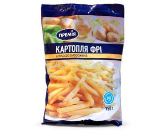 Картопля фрі заморожена «Премія»® 750 г