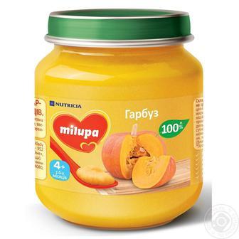 Пюре дитяче Milupa