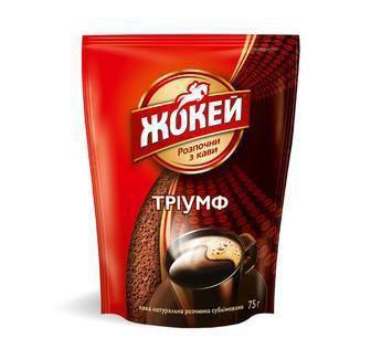 Кава розчинна Імперіал, Тріумф  Жокей 65 г