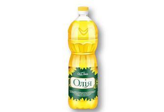 Олія соняшниково-оливкова рафінована «Своя Лінія» - 0,85 л