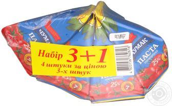Паста томатна 25% Чумак 70 г 3+1
