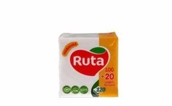 Серветка Ruta білі 120шт