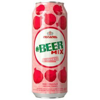 Напій Beermix, гранат, вишня, 0,5л