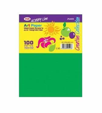 Папір кольоровий A5 100 арк. VGR