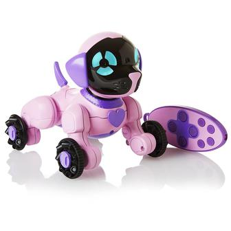Інтерактивні фігурки - Маленьке цуценя Чіп рожеве WowWee