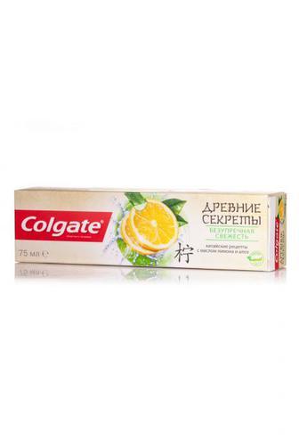 Скидка 28% ▷ Колгейт зубная паста Древние секреты Безупречная свежесть 75 мл