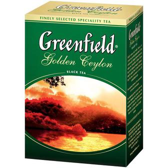 Чай Greenfield Golden Ceylon чорний 100г
