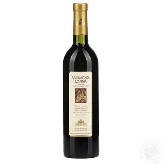 Вино Вардіані червоне, біле напівсолодке Алазанська долина 0,75 л