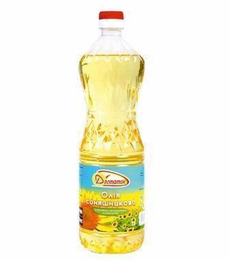 Олія соняшникова рафінована Достаток 760 мл