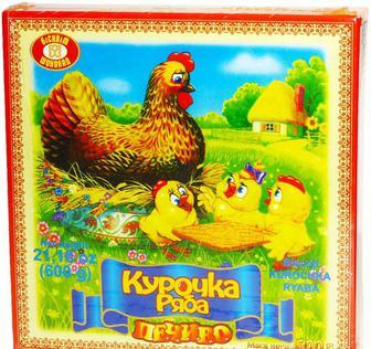 Печенье «Курочка Ряба», ХБФ, 600г