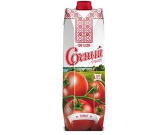Сік томатний 100%  «Сочный» 1 л