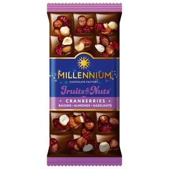 Шоколад Millenium Fruits&Nut 80 г