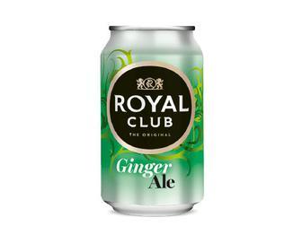 Напій Royal Club безалкогольний газований, Імбирний ель, 0,33 л