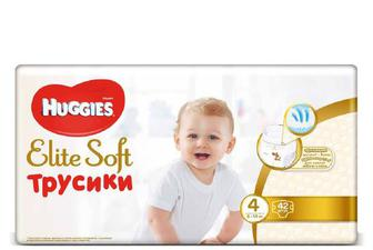 Підгузки-трусики Huggies Elite Soft 4 (9–14 кг) 42 шт