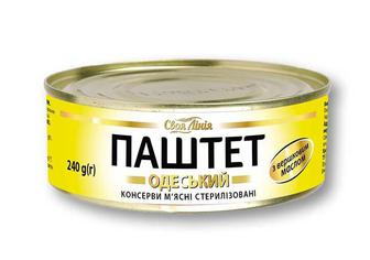 Консерви паштет «Одеський», з вершковим маслом Своя Лінія 240 г