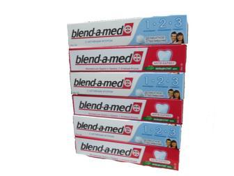 Зубные пасты blend-a-med