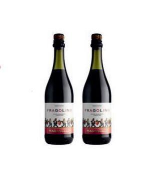 Алкогольний напій Маранелло Фраголіно червоне солодке 0,75л