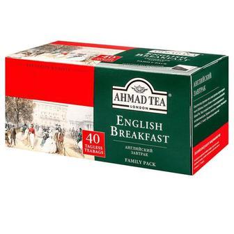 Чай «English Breakfast», AHMAD TEA, 40пак