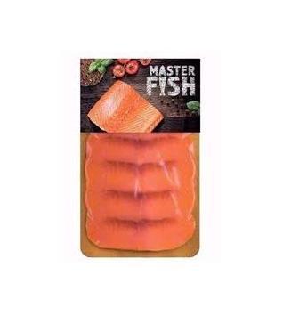 Сьомга слабосолена 90г Master Fish
