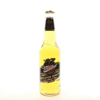 Пиво світле Miller Дженьюін Драфт 0,45л