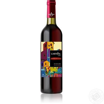 Вино Картавал Каберне Совиньон червоне сухе 0,75л
