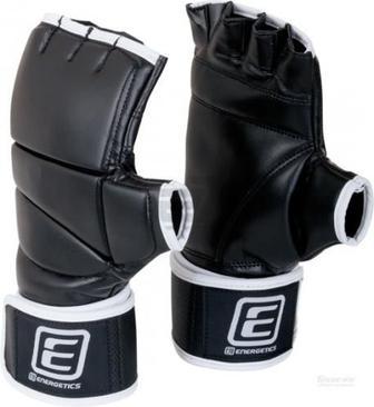 Боксерські рукавиці Energetics 225551 Power Hand Gel TNAW р. M чорний із білим