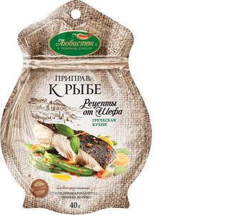 Приправа Любисток Рецепти від шефа до риби б/солі, 40 г