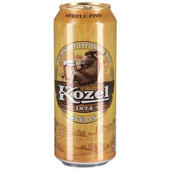 Пиво світле, темне Velkopopovicky Kozel (Велкопоповицкий Козел) 3,7% 0,5л