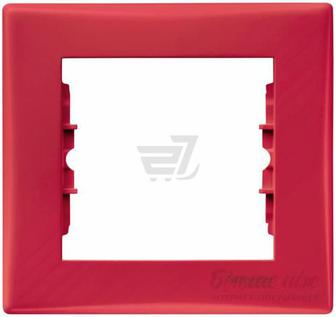 Рамка Schneider Electric Sedna червоний SDN5800141