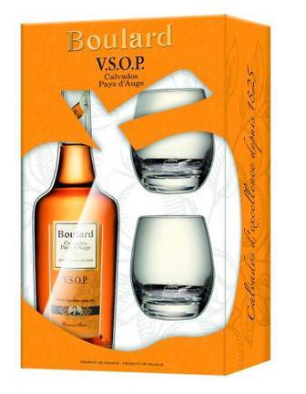 Коньяк Boulard VSOP (+2 glasses) 0.7л