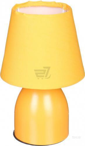 Настільна лампа декоративна Accento lighting ALW-VK063-Y 1x25 Вт E14 жовтий