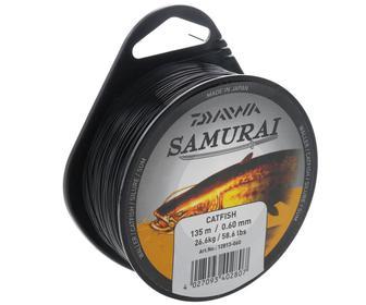 Леска Daiwa Samurai Catfish Waller 0.60мм 135м