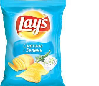 Чипсы картофельные «Lays» 133 г