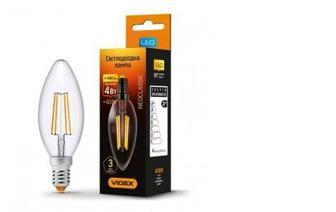Лампа светодиодная Videx C37F 4W E14