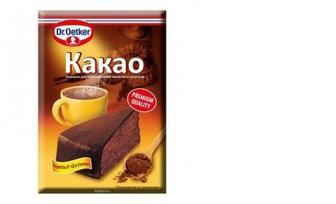Какао-порошок, Dr Oetker, 50г