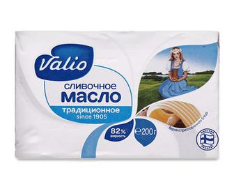Масло вершкове 82% жиру Valio, 200г