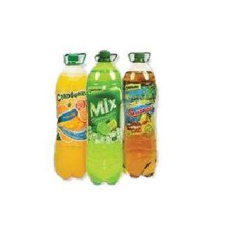 Напій Соковинка МІХ або апельсин 2л