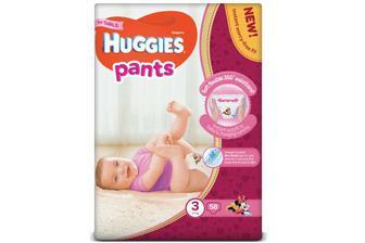 Підгузки-трусики Huggies Pants для дівчаток 3 (6-11 кг) 58 шт./уп