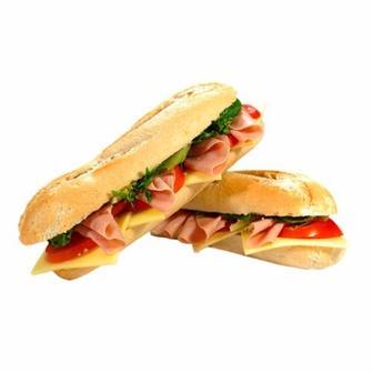 Сэндвич с ветчиной и сыром 150г