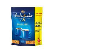 Кава розчинна Blue Label, Ambassador, 400г