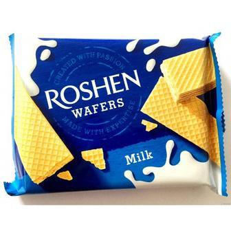 Вафлі Roshen Wafers молоко 72г