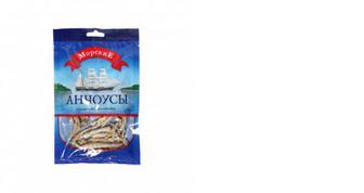 Анчоусы сушеные, Морские, 36г